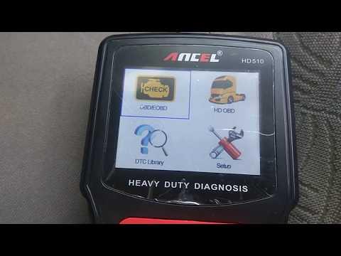 Ancel HD510 - диагностика для Грузовиков