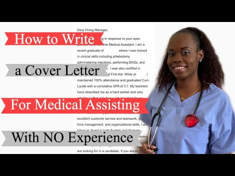 How To Write A Cover Letter As A New Medical Assistant (With Examples) | MA Cover Letter Sample