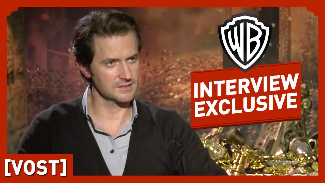 Le Hobbit - Interview Richard Armitage  (VOST) - Peter Jackson