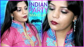 How To Do Indian Engagement Party Makeup | SuperPrincessjo