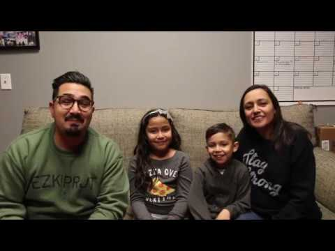 Pena family spring break  missions trip