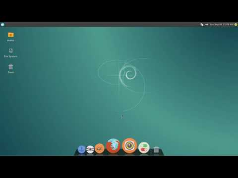Checking out Debian 8.5.0  stable Xfce