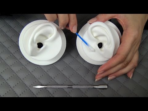 Feel the Cleaning of Your Silicone Ears l Binaural Polish Whisper ASMR