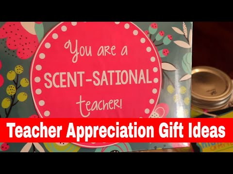 Teacher Appreciation Gifts Ideas