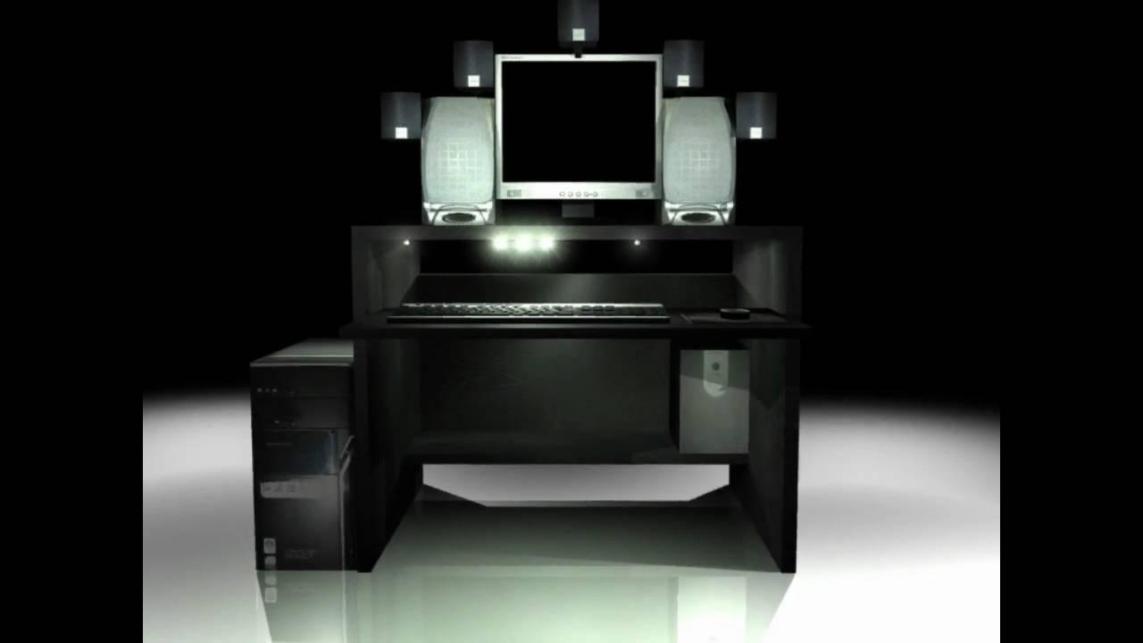 3d Presentation LED Designer Tisch