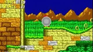 Knuckles the Echidna in Sonic the Hedgehog 2 (Genesis)  - Longplay
