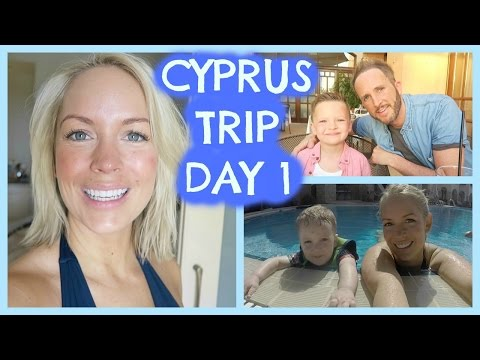HELLO SUNSHINE! CYPRUS VLOG DAY 1