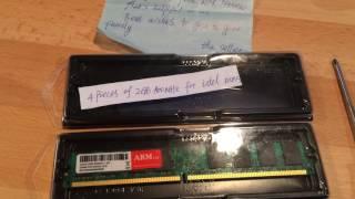 [ ALIEXPRESS ] RAM DDR2 800MHz CHEAP / MEMORIA RAM BARATA / 4X2 GBs UNBOXING