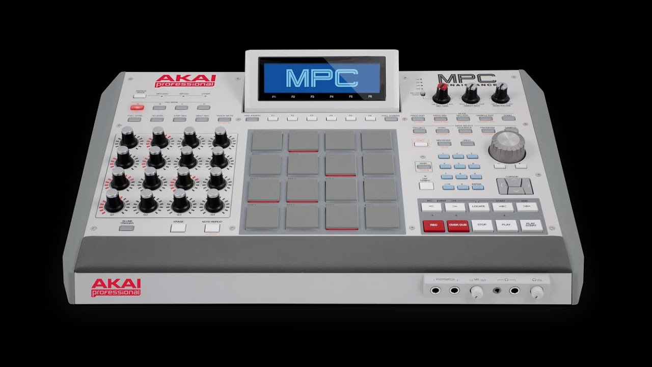 Chopping Samples On The Akai Mpc Renaissance Tutorial - YouTube