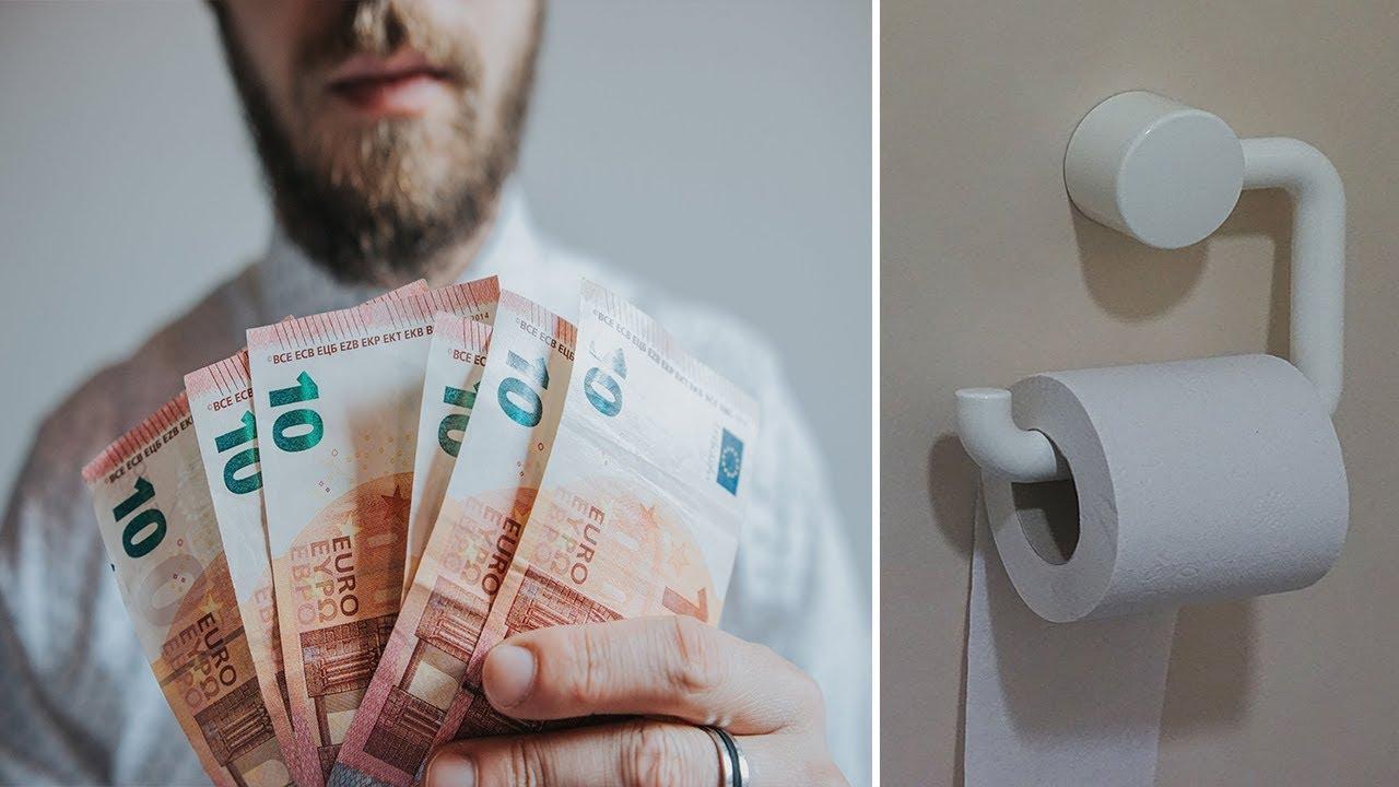 ☢ בול פגיעה - מדהים: ממה התעשר מוכר הנייר טואלט?!