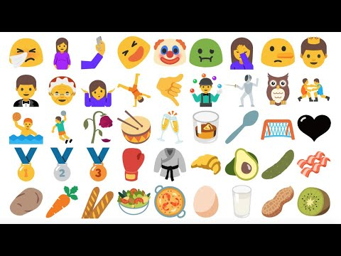 📱 All New Android Nougat Preview 2 Emojis (Unicode 9)