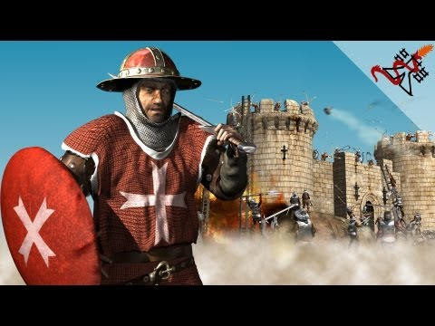 Stronghold Crusader - Mission 4 | Limassal,The Conquest of Cyprus (The Kings Crusade)