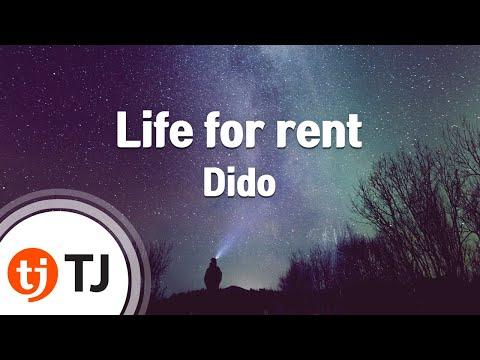 [TJ노래방] Life for rent - Dido ( - ) / TJ Karaoke