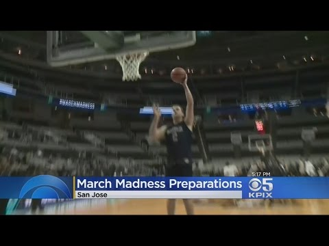 San Jose Gets Ready For Big NCAA Tournament Crowds At SAP Center