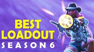 THE BEST LOADOUT SEASON 6 | HOW TO WIN | HIGH KILL FUNNY GAME- (Fortnite Battle Royale)