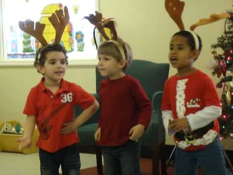 Excited too rudolph the deep throat reindeer