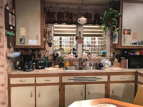 The Roseanne Set Original And Reboot Youtube
