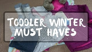 Toddler Winter Must Haves // Momma Alia