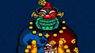 Wario Land 3 - 00 - Getting caught by Rudy (Game over)