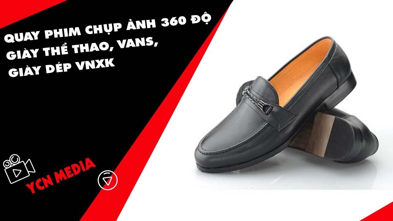 Quay phim chụp ảnh 360 độ giày thể thao, vans, giày dép VNXK