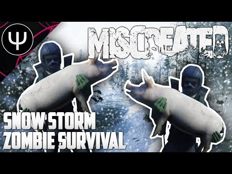 Miscreated — Winter Snow Storm ZOMBIE Survival!