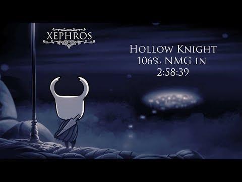 Hollow Knight 106% True Ending + Nightmare King Grimm NMG 2:58:39