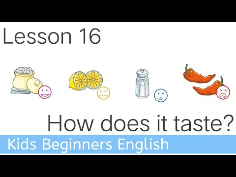 16  How does it taste ESL English Class