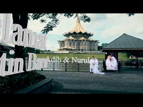 Adib & Nurul - 3D Wedding Photo Album 2017