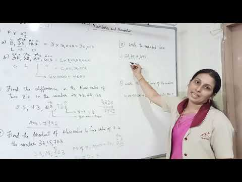 Class-5, Explanation of Chapter 1, Numbers & Numeration- Ex-3 & 4