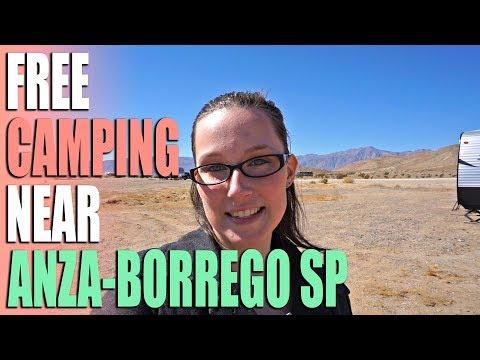 Rockhouse Campground Near Anza-Borrego Desert State Park - Campsite Review
