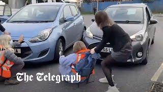 video: Insulate Britain will suspend campaign to give public 'a break' over half term