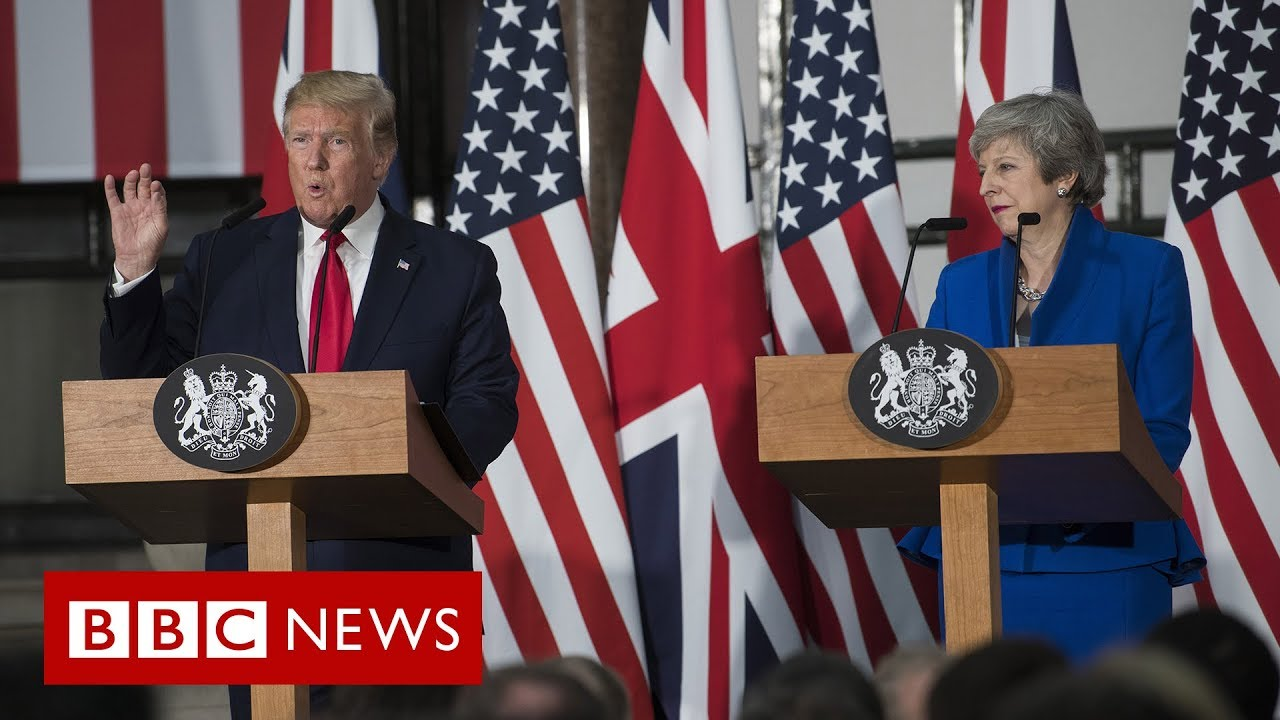 Download Day Two of President Trump's UK visit - BBC News
