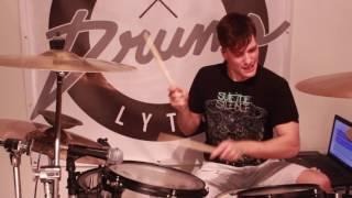 Breathe Carolina - Stable ( Marshmello remix ) - Drum cover