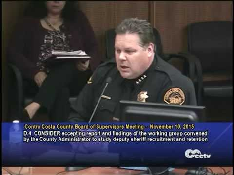 Sheriff's Recruitment and Retention Presentation to Board of Supervisors