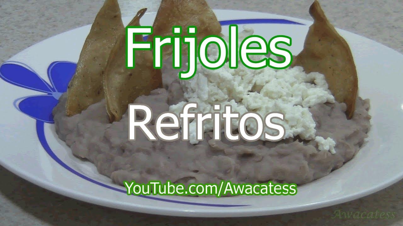 Como hacer frijoles refritos con aceite recetas de cocina for Comidas mexicanas rapidas y economicas