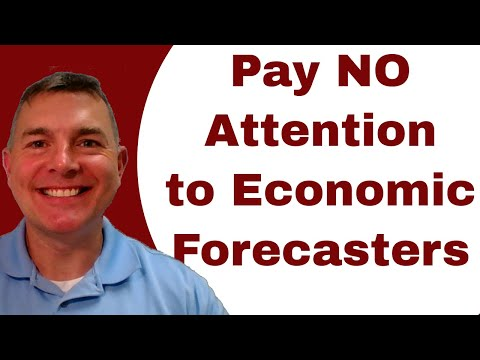 Why You Should NOT Pay Attention to Professional Economists