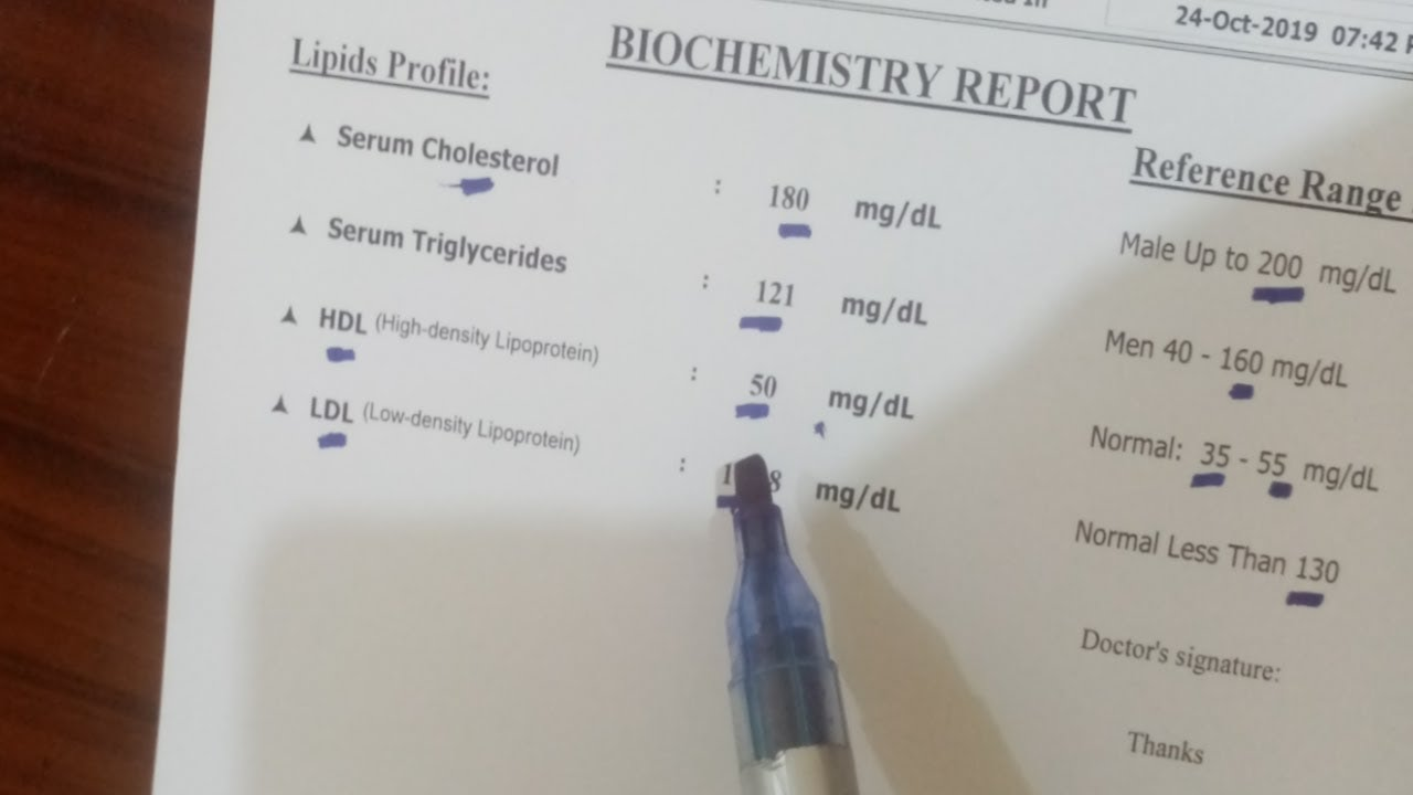 قراءة تحليل الكوليسترول والدهون الثلاثية وعلاقته بجلطات القلب وتصلب الشرايين Youtube