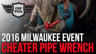 """Milwaukee Pipe Wrench The Cheater is 10"""", 18"""" or 24"""""""