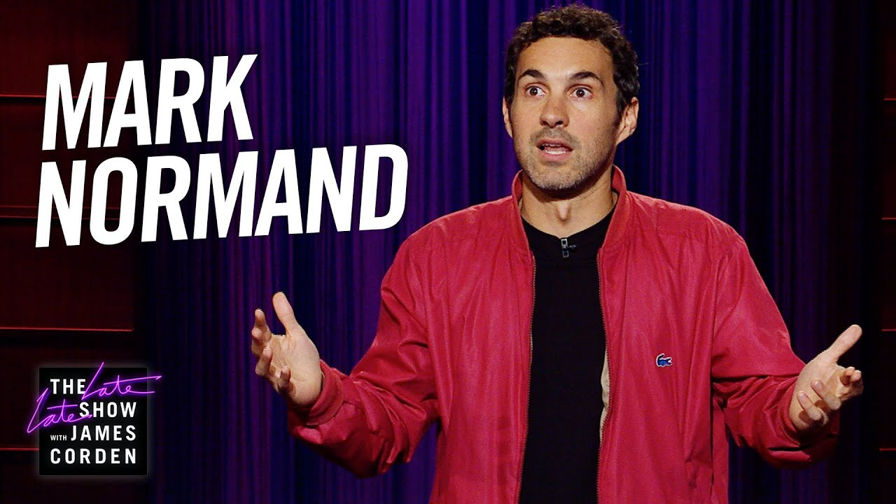 Mark Normand Stand-Up on 'The Late Late Show'