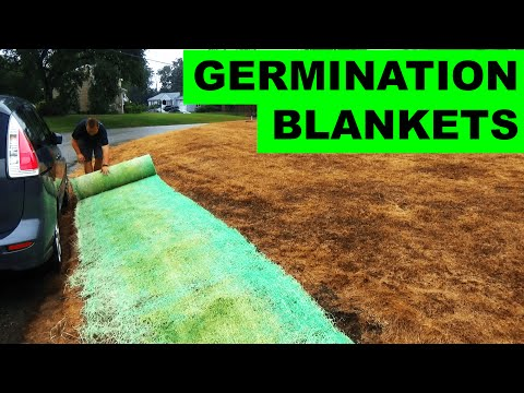 Blankets To Grow Gr Seed On A Hill