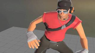 Team Fortress 2 - Scout Sneaking Animations