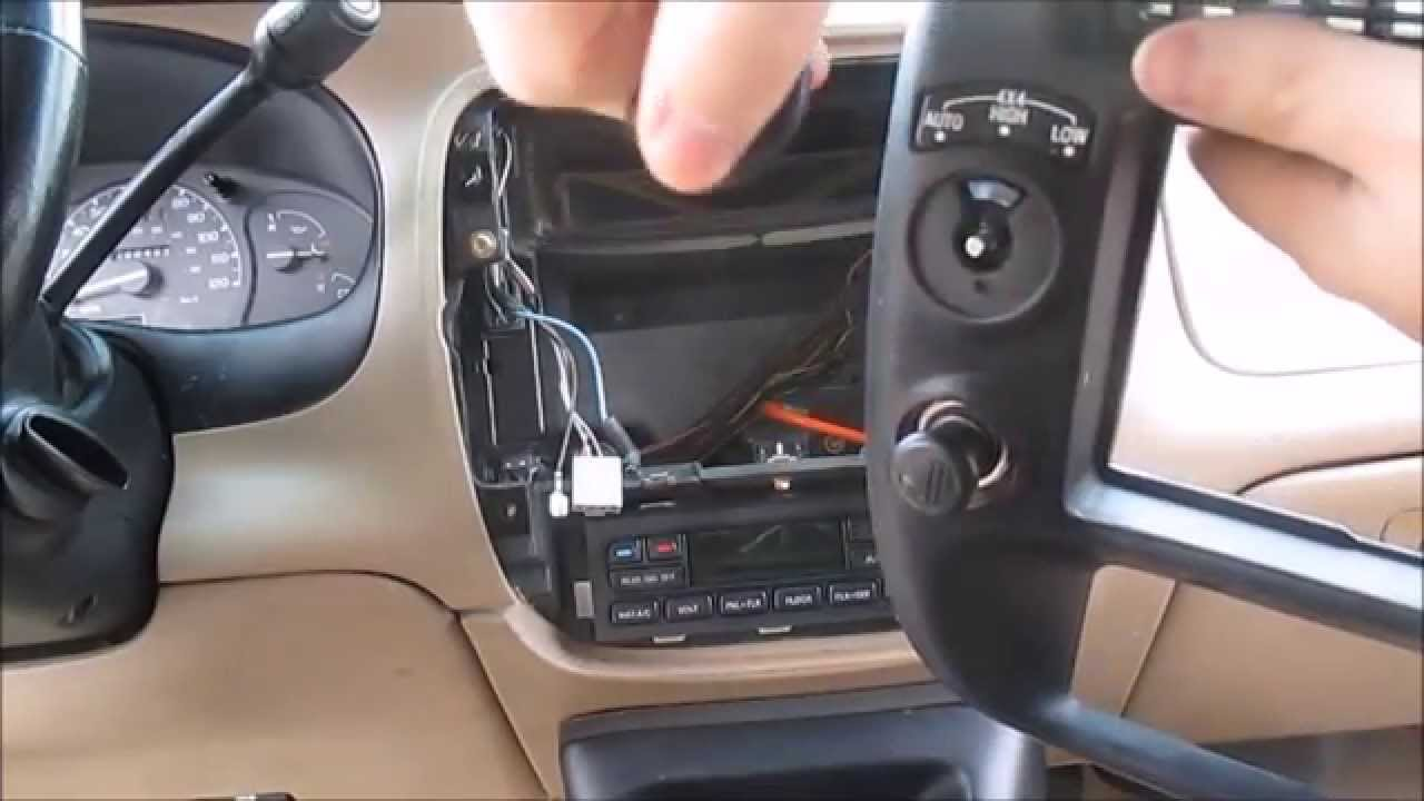 2004 ford ranger wiring diagram 2002 chevy malibu engine explorer 4x4 mode switch replacement - youtube