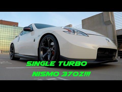 single turbo 370z