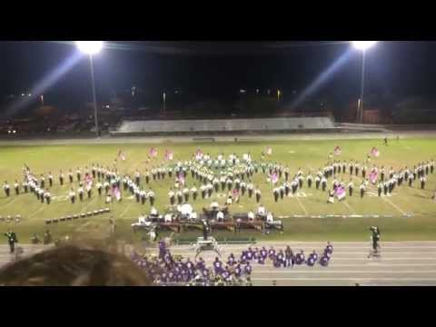 Viera High Band Homecoming Performance 11.6.15