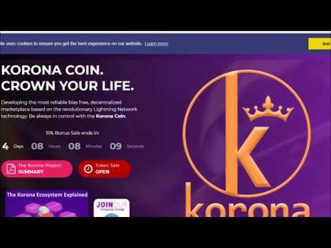 Korona Coin 'ICO' Review