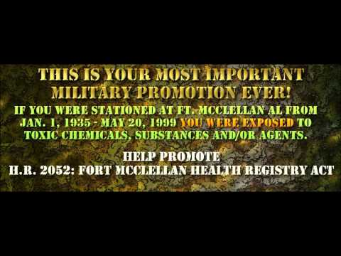 Fort McClellan Chemical Exposure