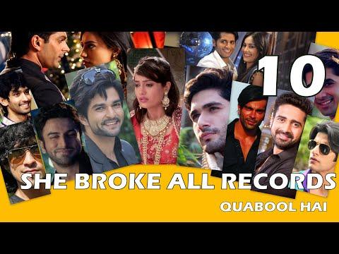 Surbhi Jyoti Aka Zoya's RECORD BREAKING 10 WEDDINGS  In Qubool Hai Tv Show