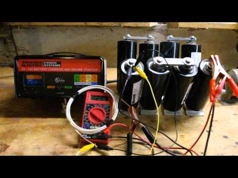 How to charge a supercapacitor