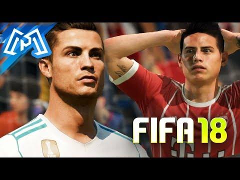 FIFA 18 - O MELHOR FIFA !? - DEMO GAMEPLAY