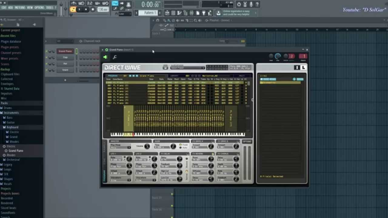 how to find key note of fl studio